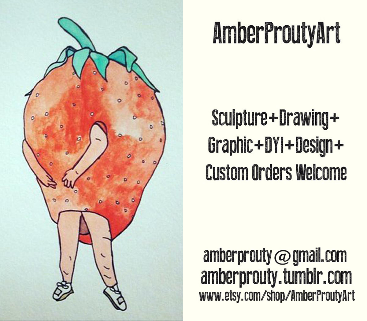 Amber Prouty Business Card