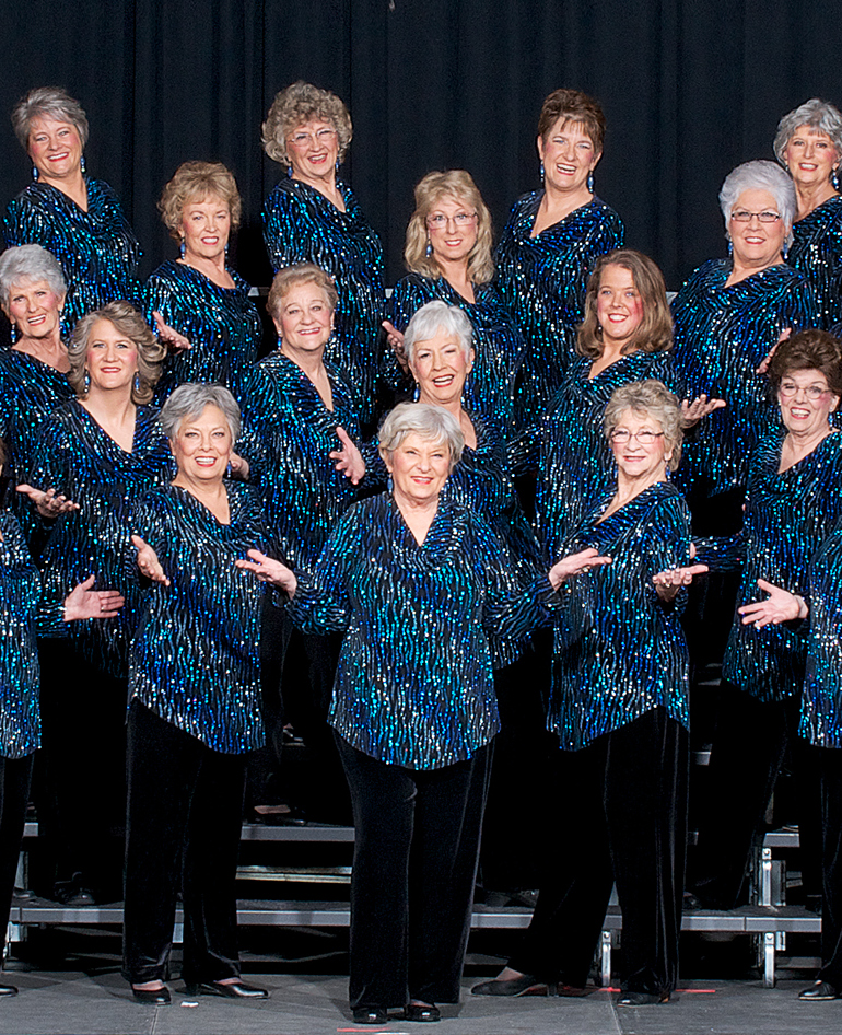 Five Valley Chorus of Sweet Adelines Performance Image