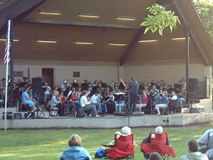 Missoula City Band Performance