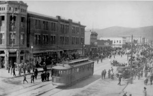 Historic Image of Downtown Missoula Montana